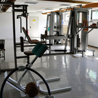 Fitnessraum in Bad Eilsen